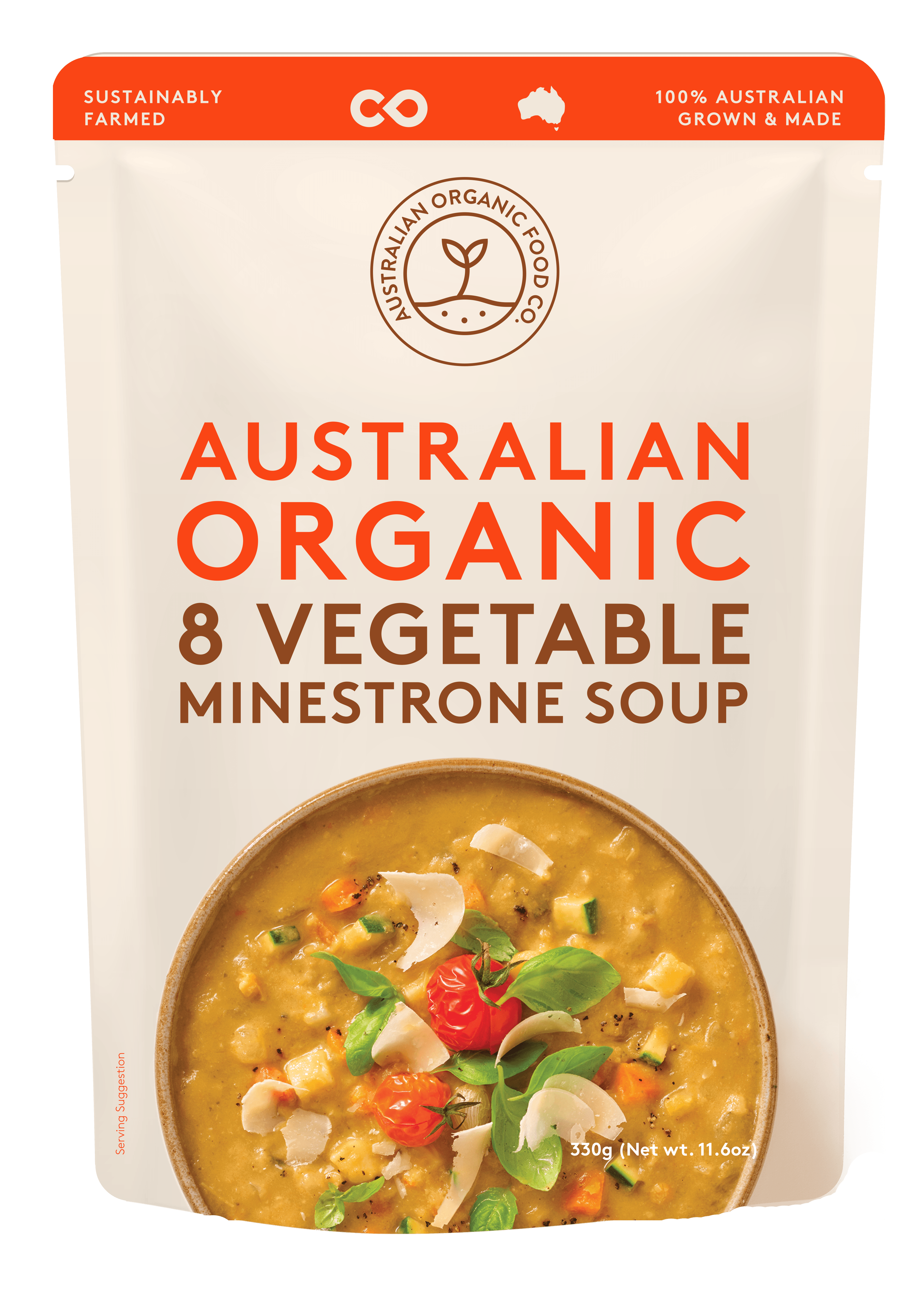 8 Vegetable Minestrone Soup Package Image