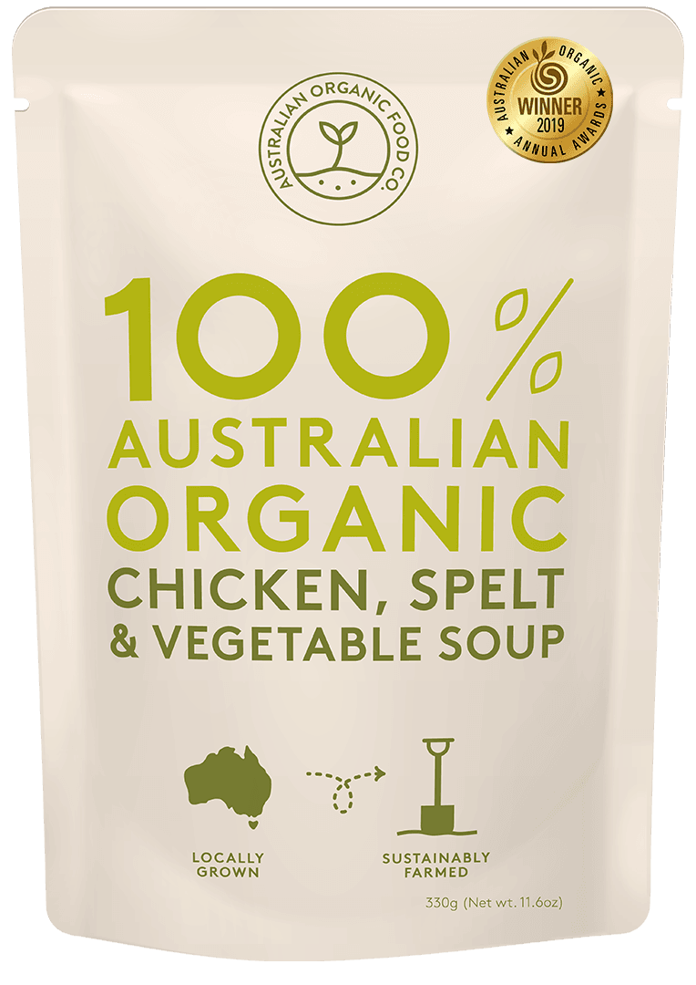 Chicken, Splet & Vegetable Soup Package Image