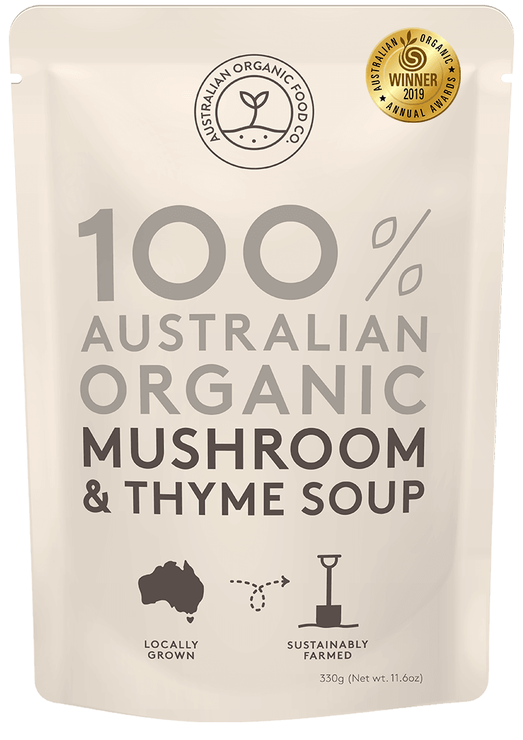 Mushroom & Thyme Soup Package Image