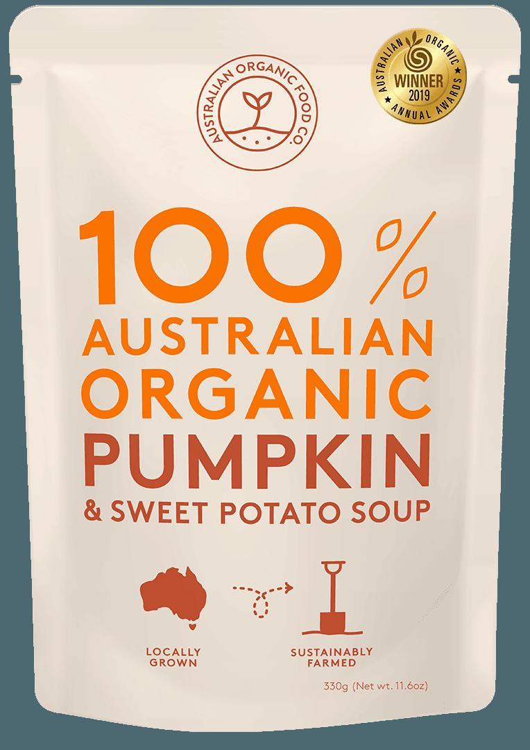 Pumpkin & Sweet Potato Soup Package Image