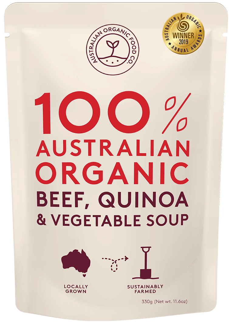 Beef, Quinoa & Vegetable Soup Package Image