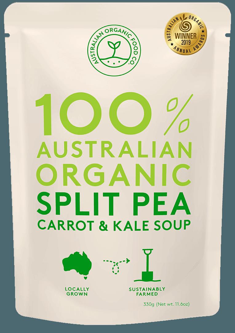 Split Pea, Carrot & Kale Soup Package Image