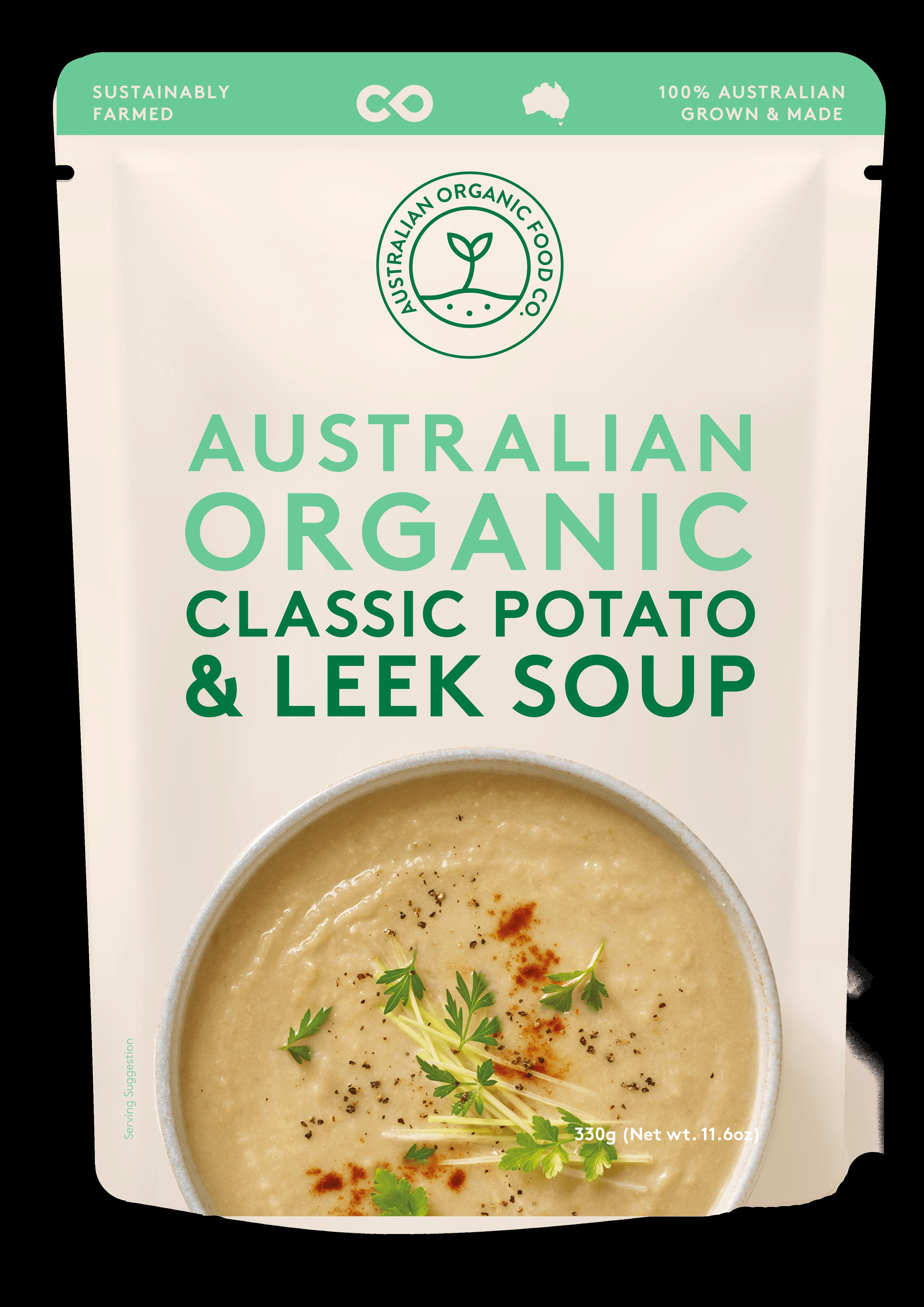 Potato & Leek Soup Package Image