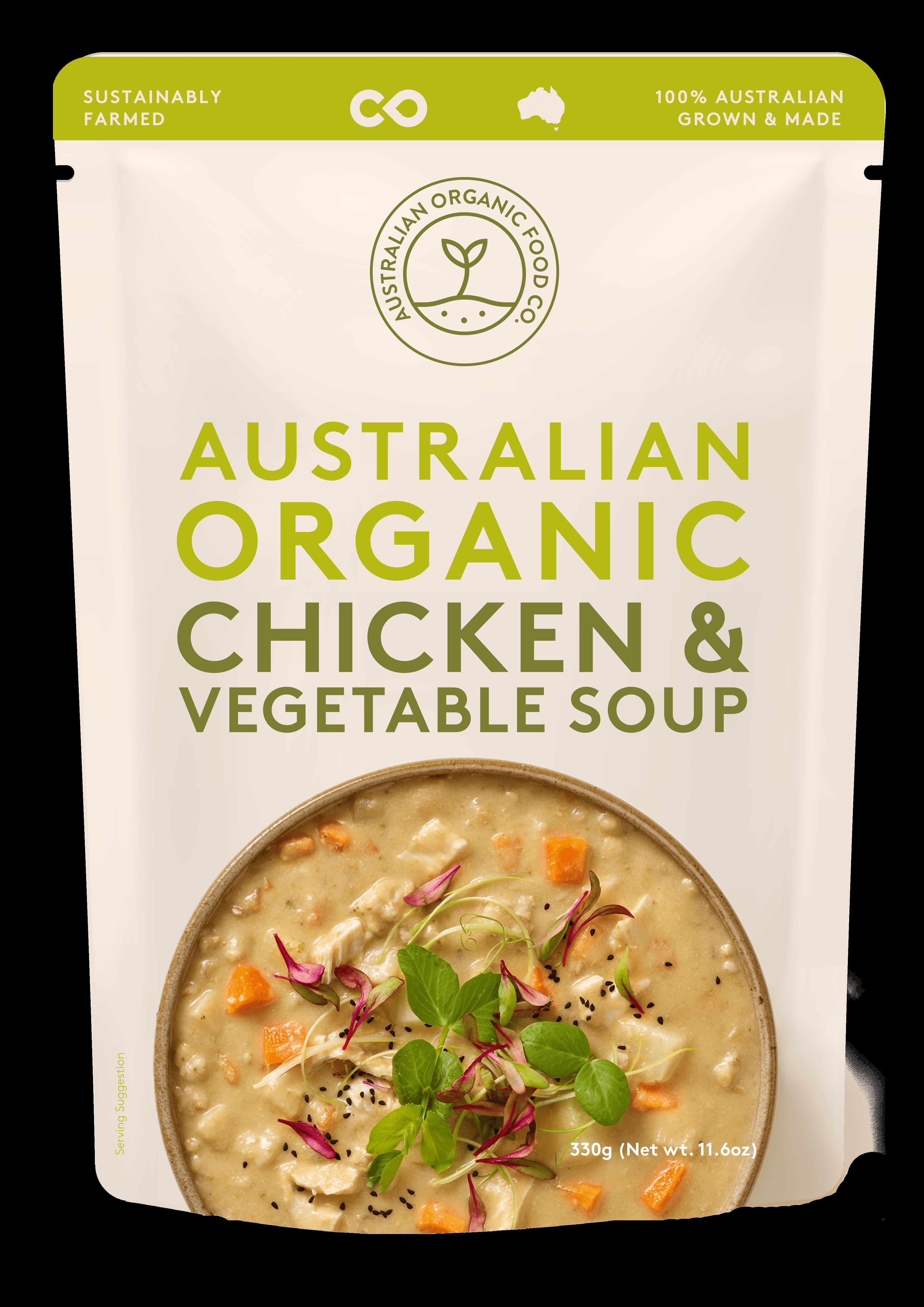 Chicken, Spelt & Vegetable Soup