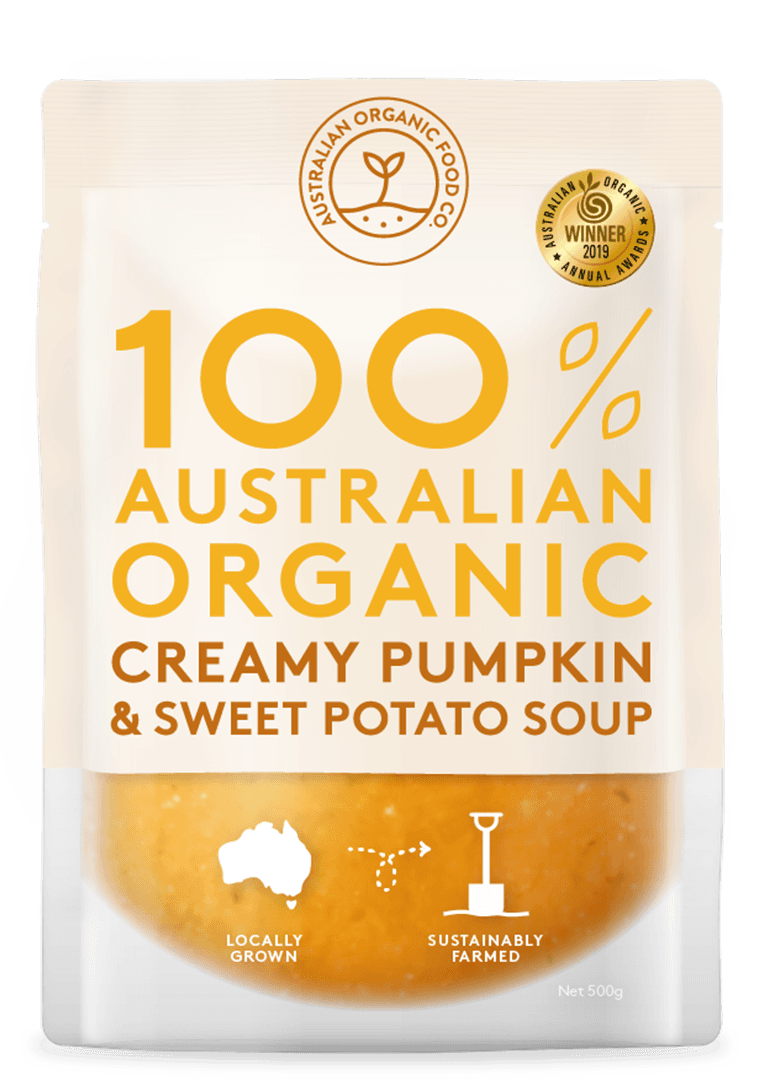 Creamy Pumpkin & Sweet Potato Soup Package Image