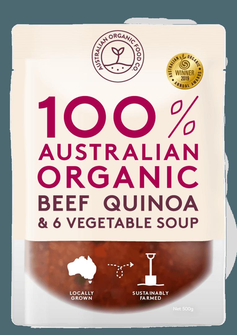 Beef, Quinoa & 6 Vegetable Package Image