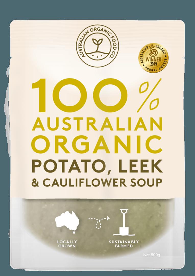 Potato, Leek & Cauliflower Soup Package Image