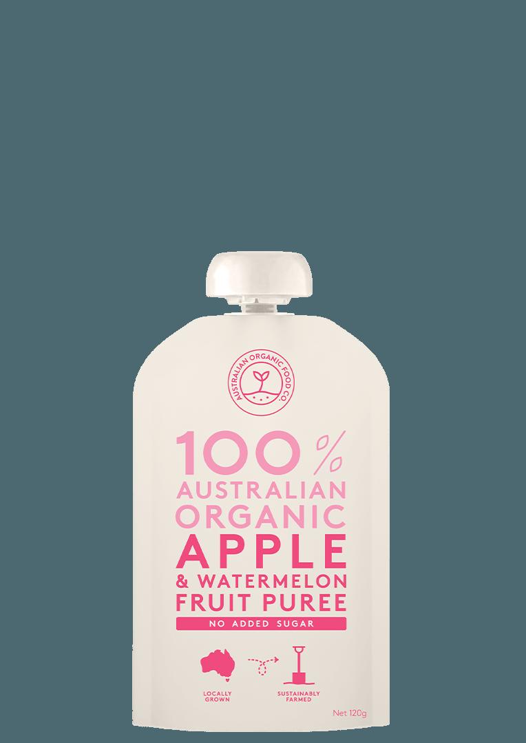 Apple & Watermelon Fruit Puree Package Image