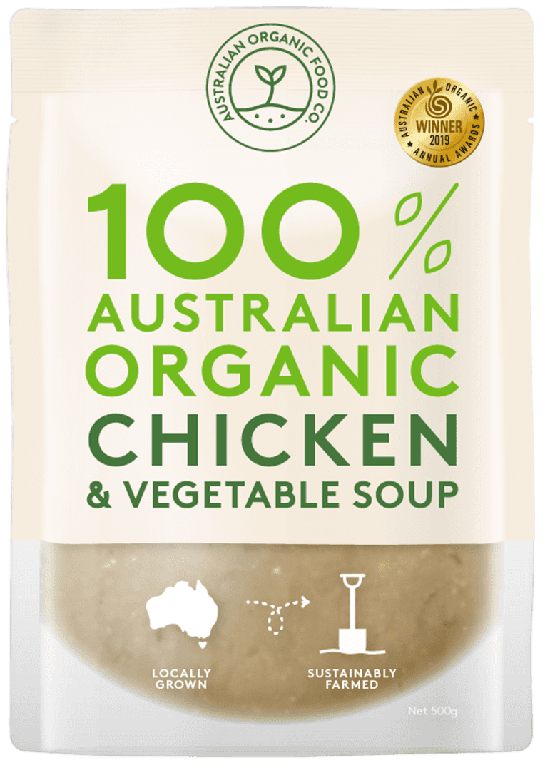 Chicken & Vegetable Soup Package Image