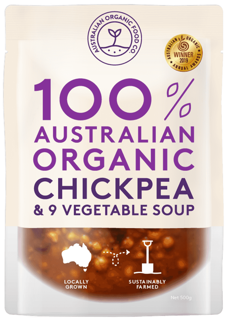 ChickPea & 9 Vegetable Soup Package Image
