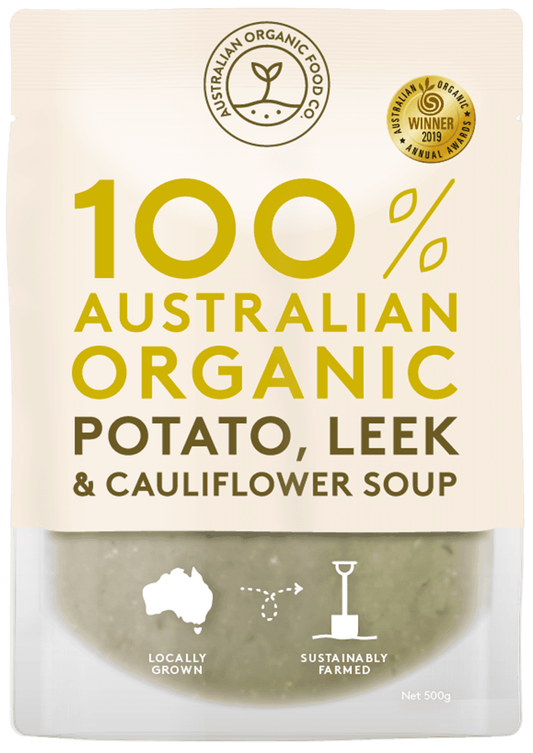 Potato, Leek & Cauliflower Soup Package Image