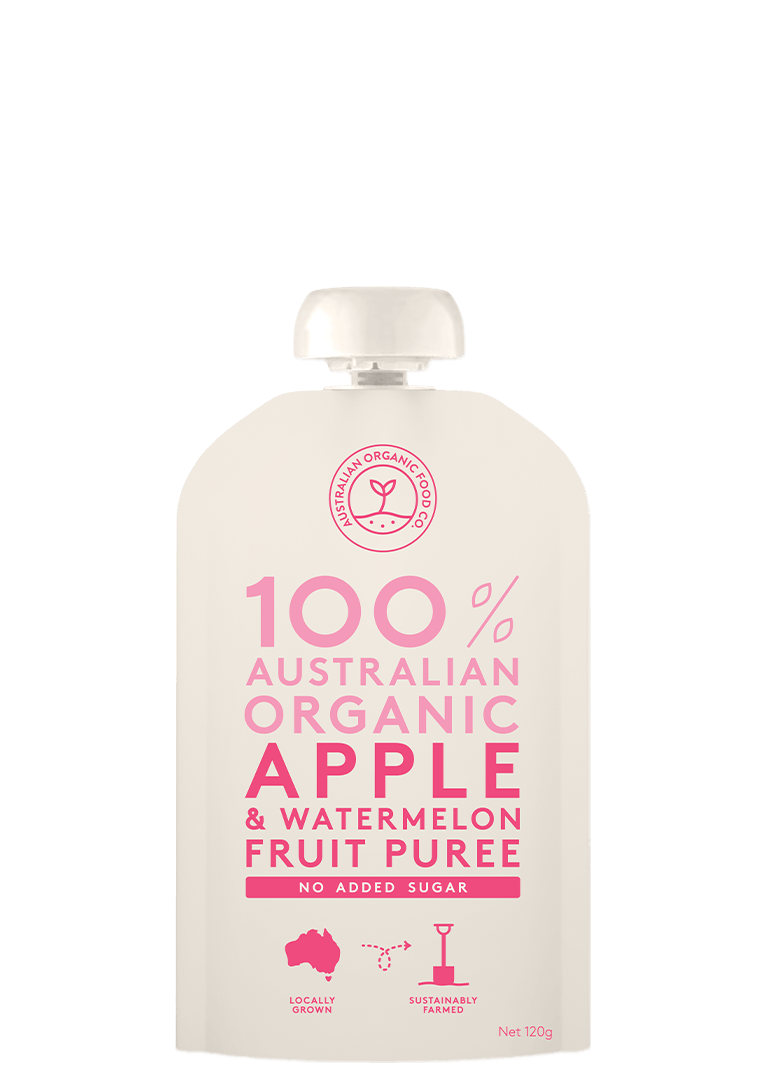 Apple & Watermelon Fruit Puree Package Image