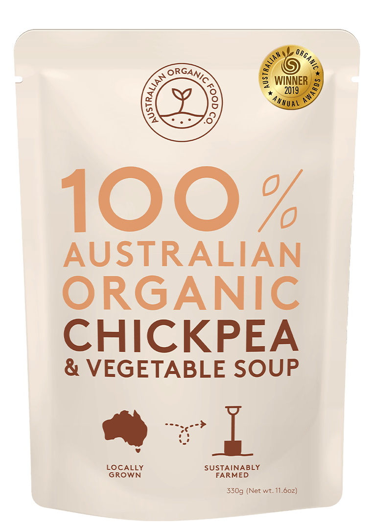Chickpea & Vegetable Soup Package Image