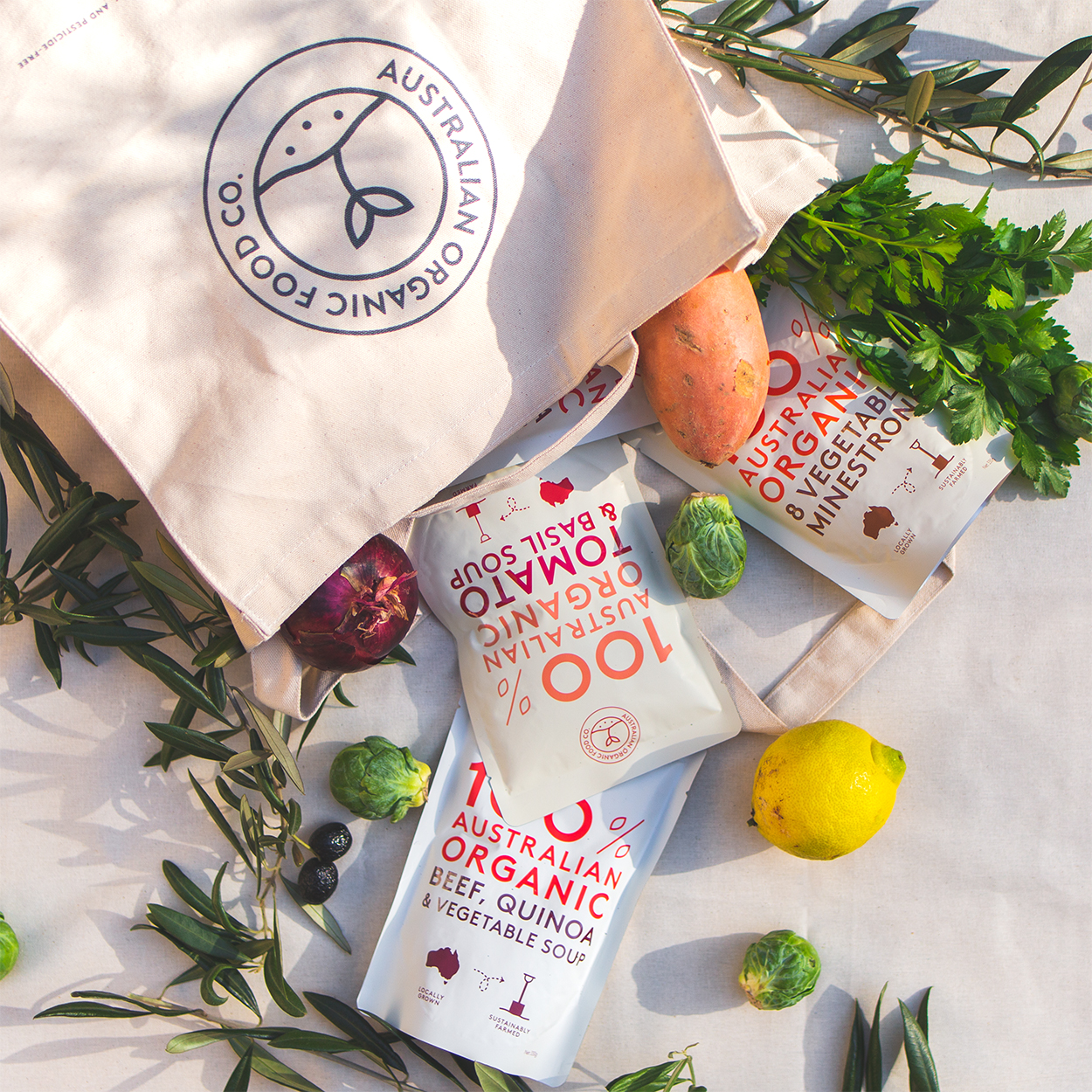 Australian Organic Food Co. winter essential prize pack