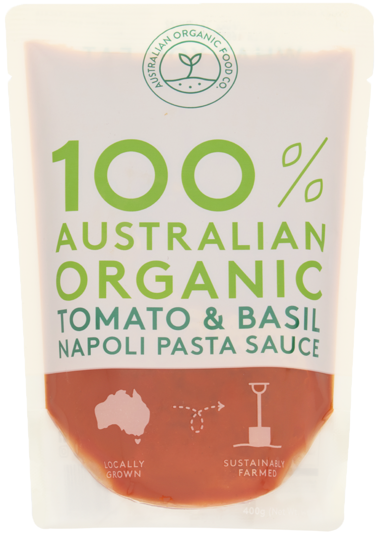 Tomato and Basil Napoli Pasta Sauce Package Image