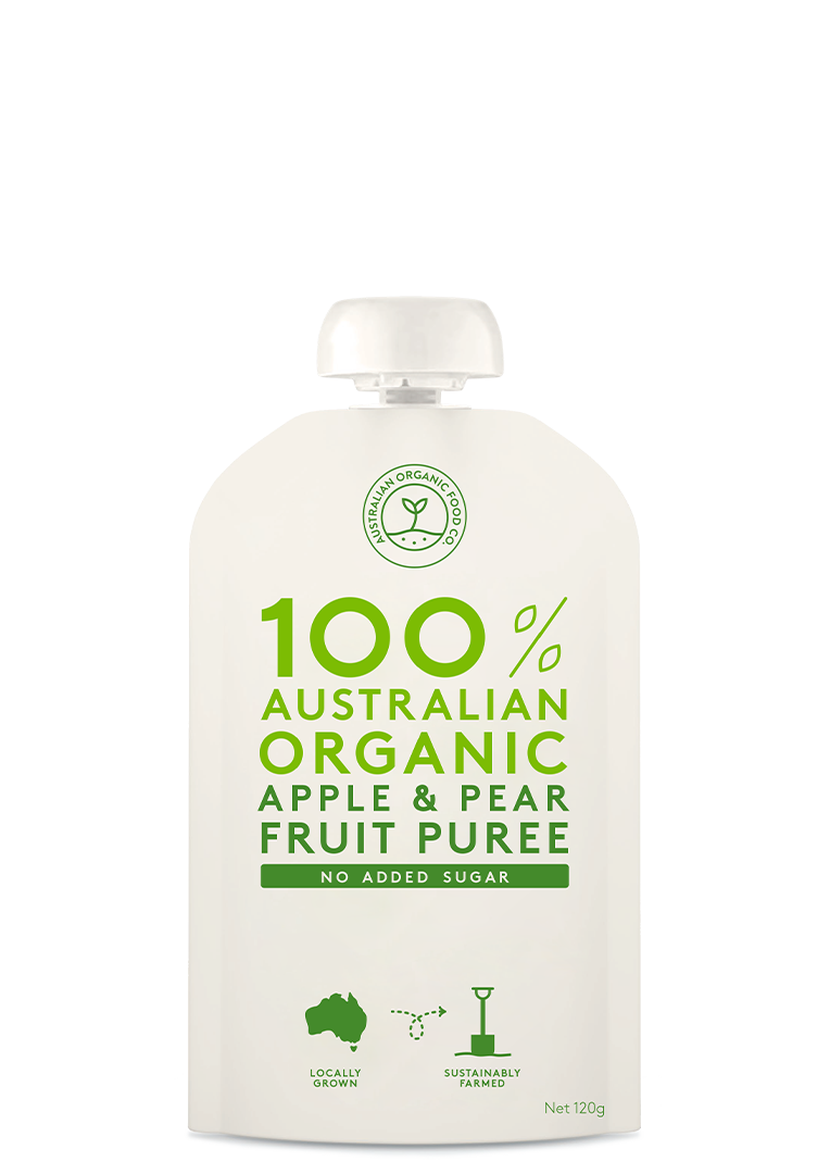 Apple & Pear Fruit Puree Package Image